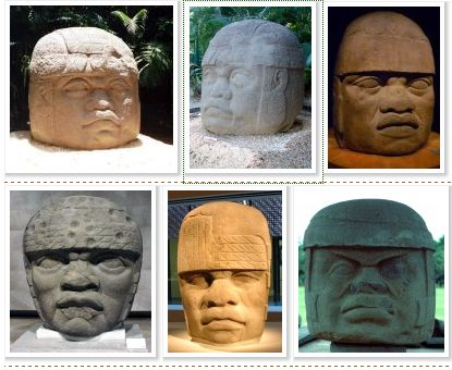 Olmec African heads, evidence of African contact with the Americas