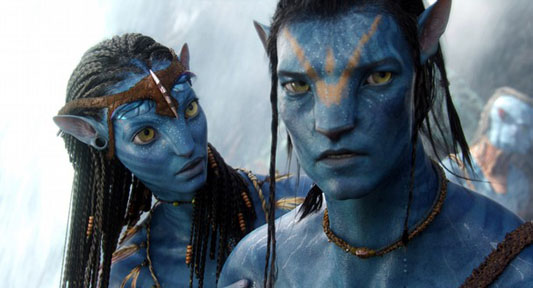 The blue people, the 'Na'vi',